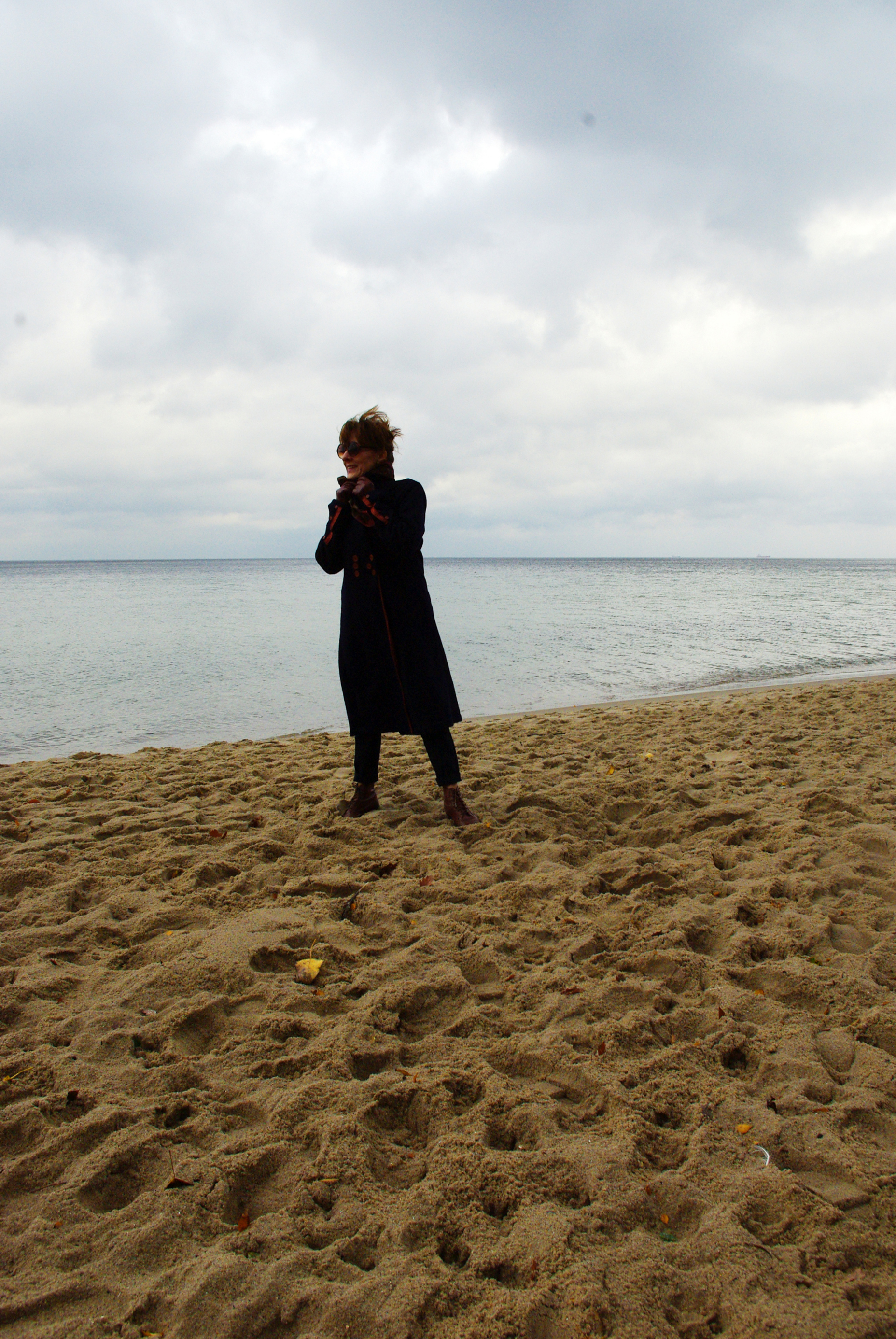 plaża wyrównana